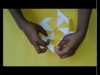 How To Make easy Ninja Star Transforming 8 Pointed, Origami 8 Pointed Ninja Star - Youtube