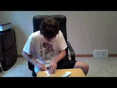 How to make Ninja Stars (Painful injuries included)