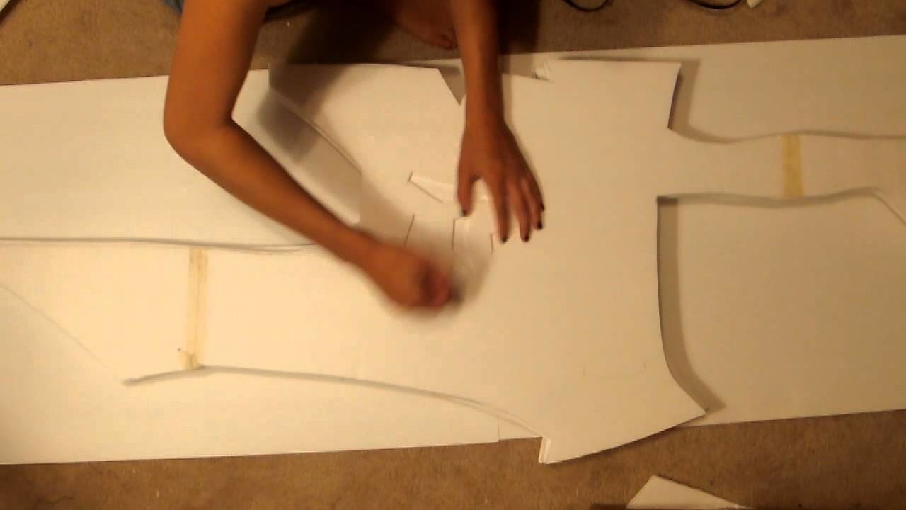 How to make Riven Armor.Sword Cosplay: Part 2