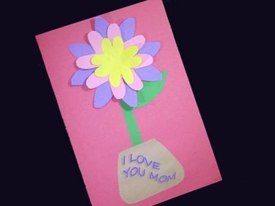 How to make Spring Time Flower Card - EP