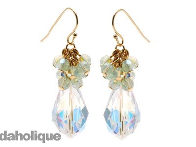 Instructions for Making the Crystal Decadence Earring Kit