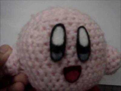 Kirby Amigurumi Plushie (^.^)
