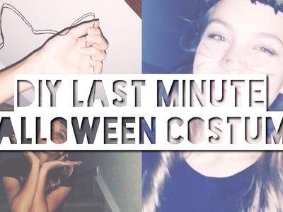 Last Minute DIY Halloween Costume