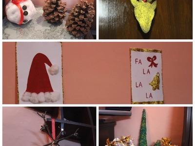 Last minute DIY Ideas: Cute, Easy & Affordable Christmas Decoration