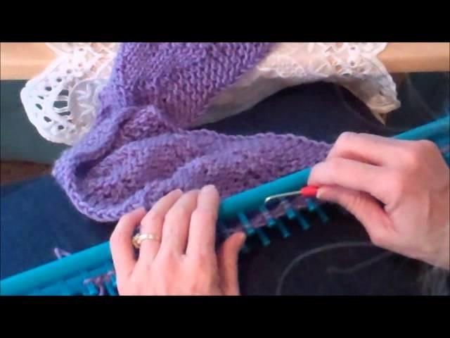 Loom Knitting Quick Knit & Purl Stitch
