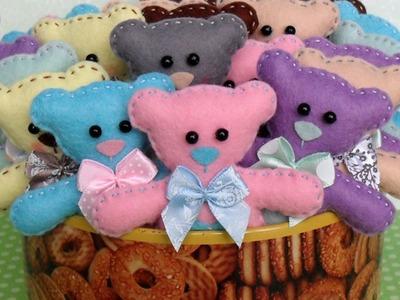 Make an Adorable Felt Bear - DIY Crafts - Guidecentral
