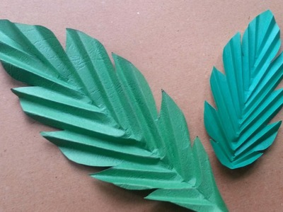 Make Fun Paper Leaves - DIY Crafts - Guidecentral