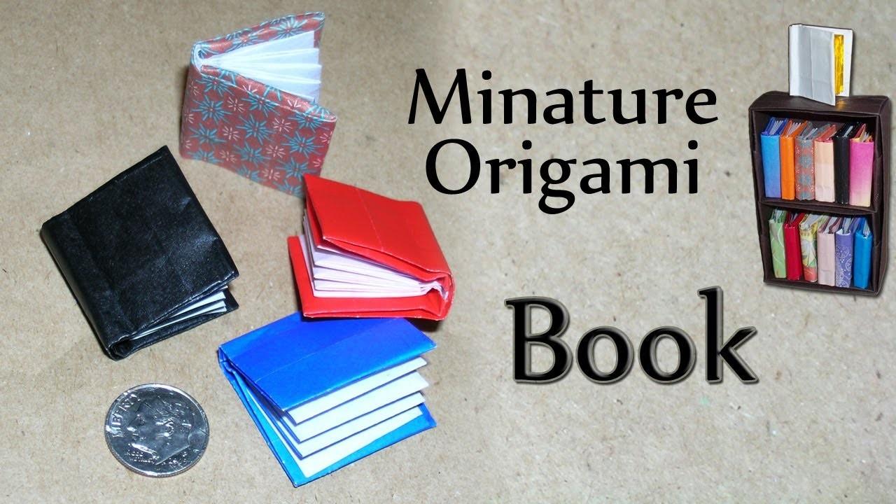Miniature Origami Book by David Brill