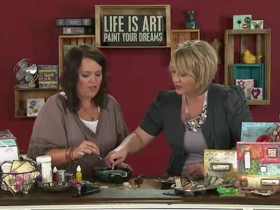My Craft Channel: Art.Redefined Christy Tomlinson - Crafting with Utee
