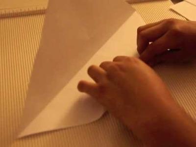 Origami Double barrel Pistol Tutorial (Super Simple beginner level)