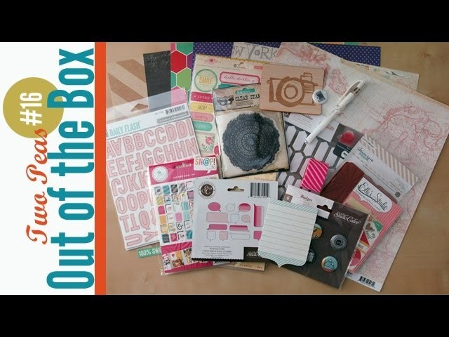 Out of the Box #16: 2Peas Scrapbook Haul
