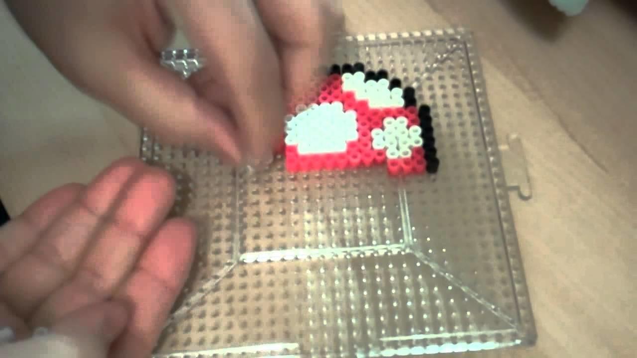 Perler Beads: Mario - Super Mushroom