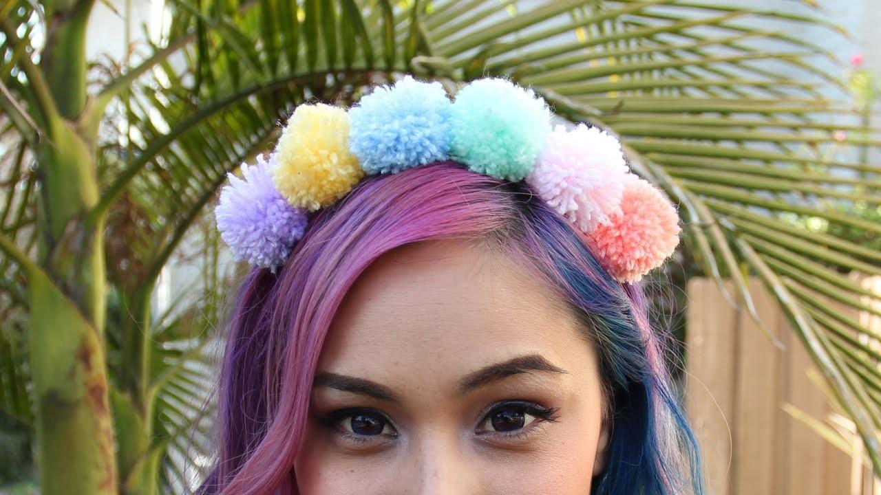 Pom Pom Headband ♥ DIY