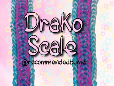 Rainbow loom-Drako Scale-How to