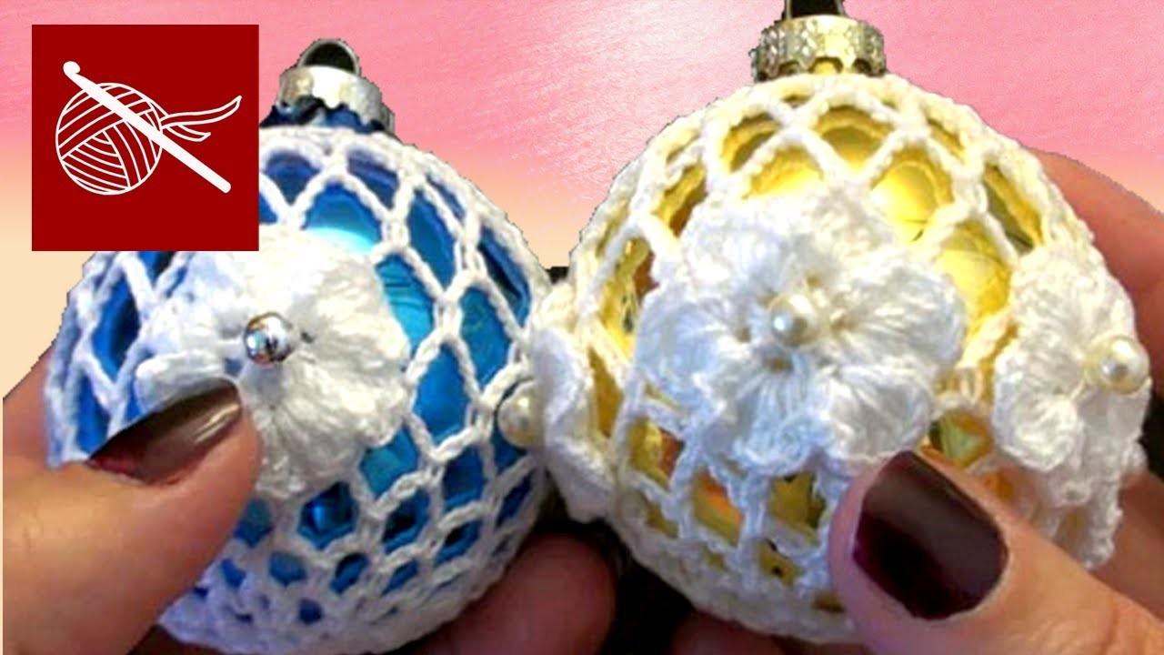 Thread Crochet Christmas Holiday Lace Ornament Crochet Geek