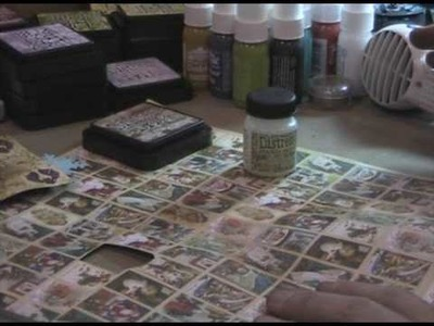 Tim Holtz introduces Rock Candy Distress Crackle Paint™ at CHA Summer
