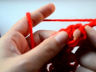 Crochet Lessons - How to work a triangle based on the granny square - Part 2