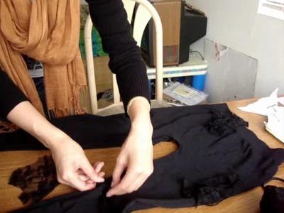 DIY: Lace Leggings
