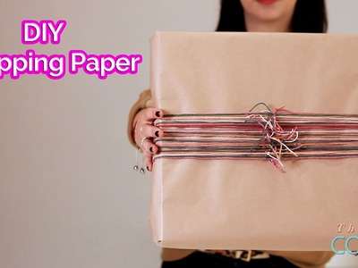 DIY with DesignHer Co: DIY Wrapping Paper!