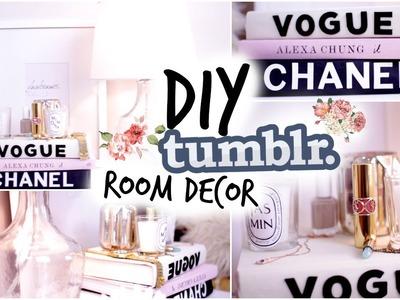 Fall DIY Tumblr Room Decor! Cozy Fall Nightstand!