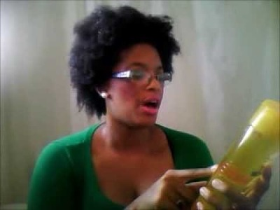 Garnier Fructis Fortifying Shampoo Triple Nutrition On My Natural 4C Hair Review!!