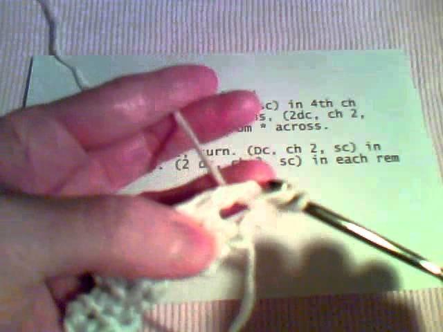 How to Crochet - Dishcloth Tutorial