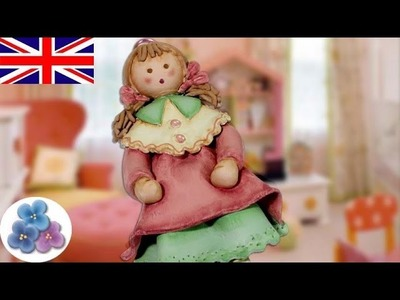 How to Make a Clay Doll Air Dry Clay Dolls with Modeling Clay DIY Dolls Mathie