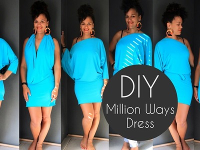 How To Make a Million Ways Dress | Sewing For Beginners