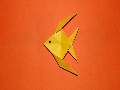 How To Make An Origami Fish 01