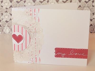 Valentines day card tutorial