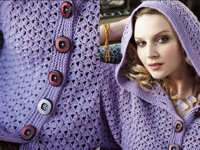 #28 Textured Hoodie, Vogue Knitting Crochet 2013 Special Collector's Issue