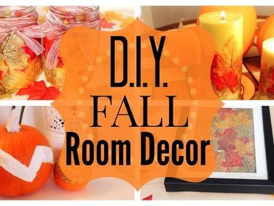 4 DIY FALL ROOM DECOR IDEAS!  Jess Brooke