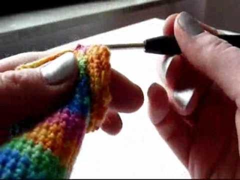 Christmas Stockings - Baby socks (Crochet) - Part 2