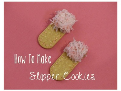 Crafts For Kids : Fun Kids Snack Food Ideas | How To Make Slipper Cookies