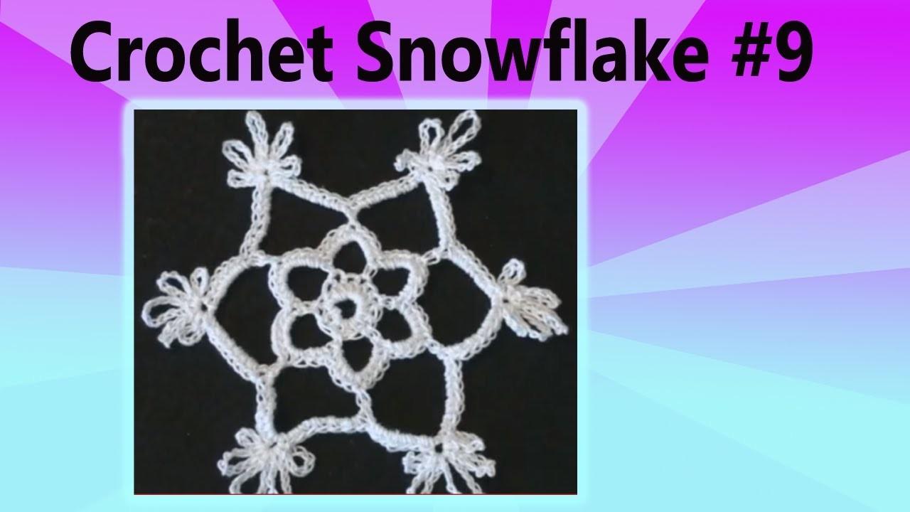 Crochet Snowflake Shakuntala Christmas Crochet Geek