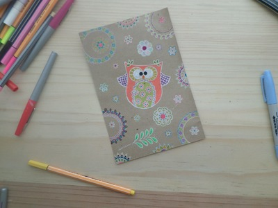 DECORA sobre papel craft