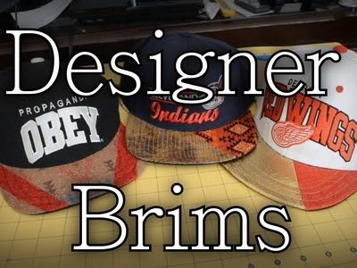 DesignerBRRRRIM. 2-Toned Brim Tutorial [DIY]