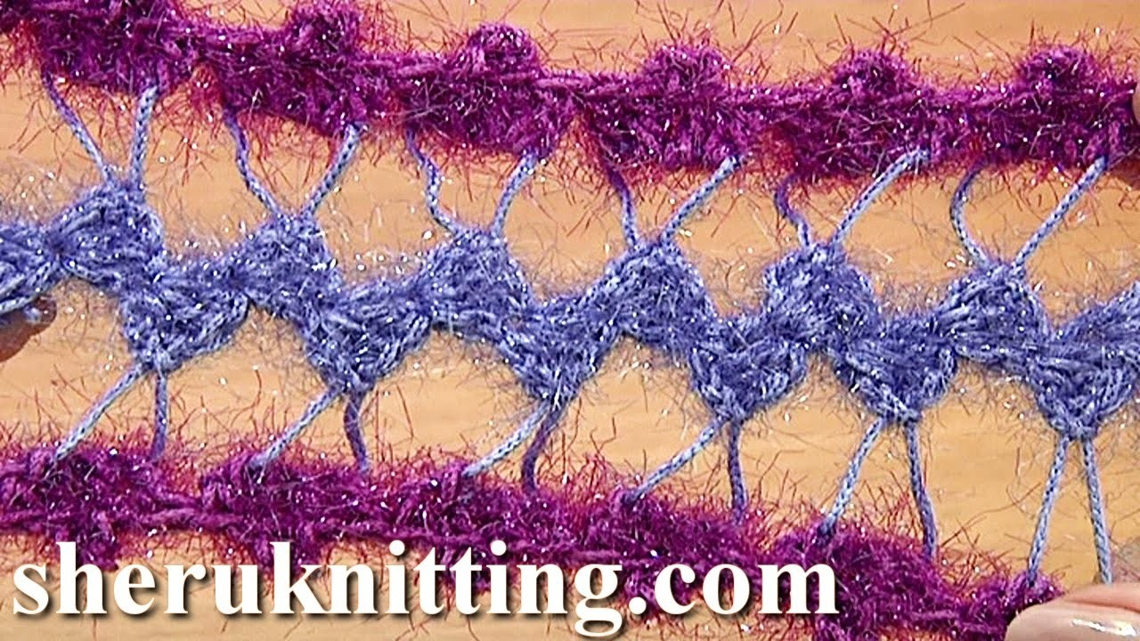Developing Basic Strip With Additional Crochet Tutorial 31