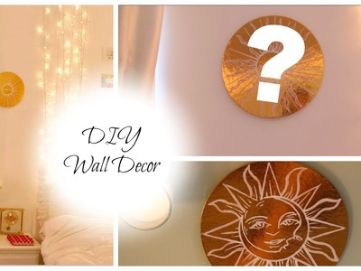 DIY Gold Wall Decor with Super Cheap Object!