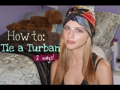 DIY.How to: Tie a Turban