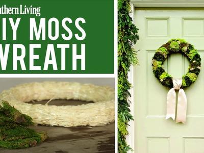 DIY Moss Wreaths | Christmas Wreath