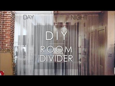 DIY | ROOM DIVIDER