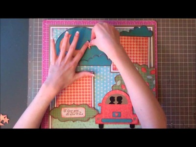"""Faith Abigail Designs - """"All the Way to the Moon"""" Scrapbook Layout Tutorial"""