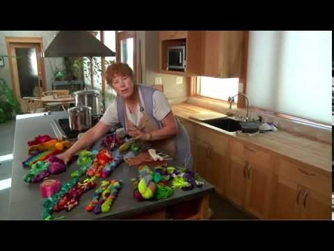 How to Dye Yarn From Your Own Kitchen