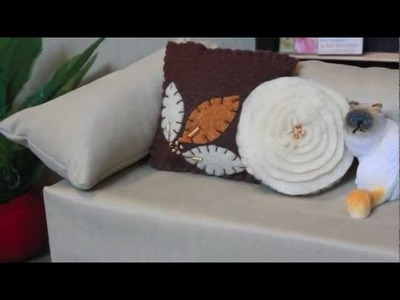 How to Make a Doll Decorative Pillow - Doll Crafts