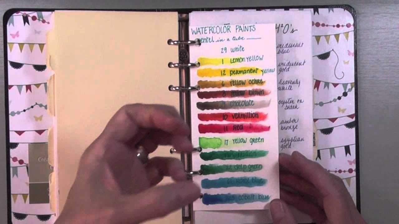 I organize: my arts and crafts supplies inventory binder