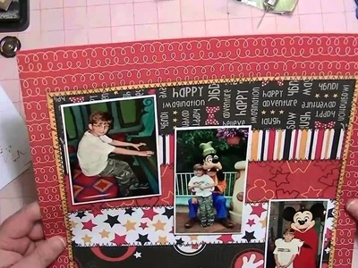Magical Memories Scrapbooking Process Video - From Start to Finish