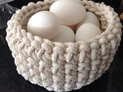 Make a Weave Basket for Eggs - DIY Crafts - Guidecentral
