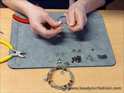 Making jewelry - DIY Project 5: Making a memory wire bracelet