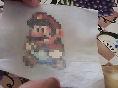Perler Bead Sprites Super Mario World